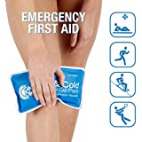 Roscoe Reusable Cold Pack and Hot Pack – Ice Pack For Knee, Shoulder, Back, Injuries - Microwave Heating Pad, Multiple Sizes Available