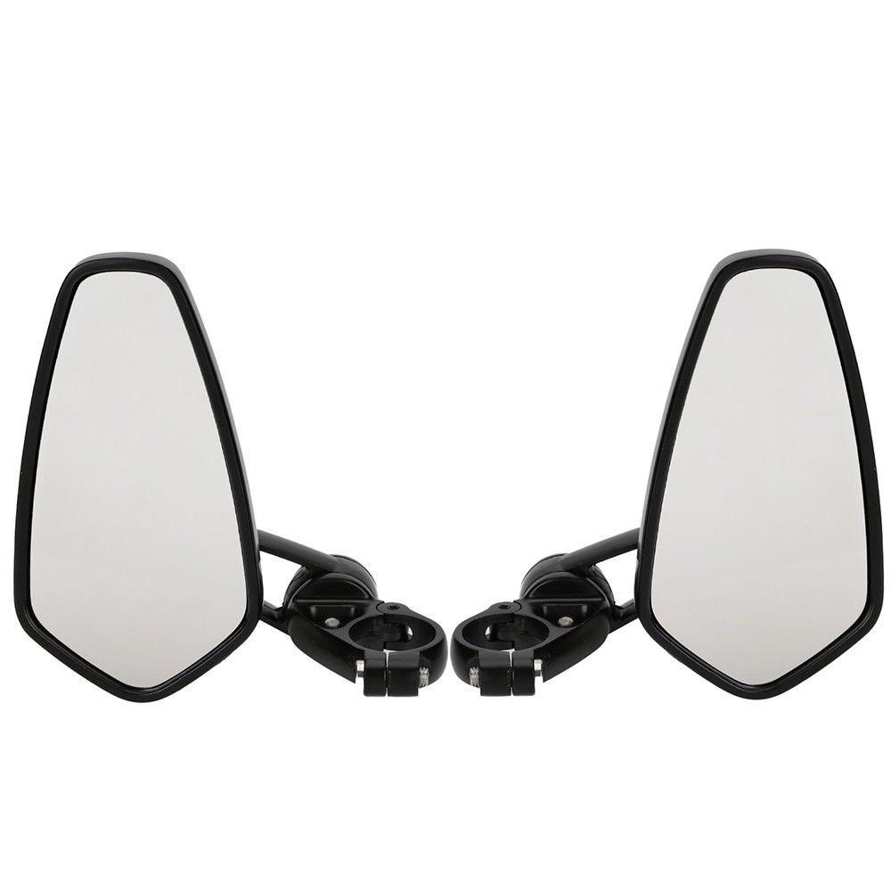 OSAN 2x Motorradspiegel Lenkerendenspiegel UNIVERSAL CNC Aluminum 7//8 /Ø22mm