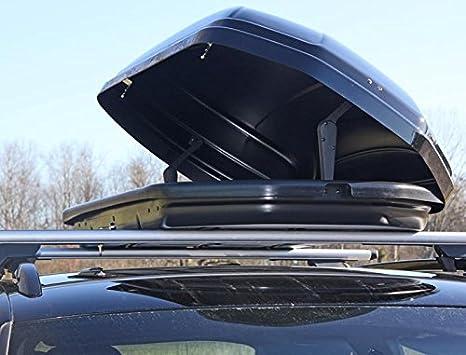 Dachbox Vdp Maa320 Schwarz Matt Auto Dachkoffer Abschließbar 320 Liter Auto