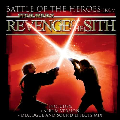Star Wars Revenge Of The Sith Battle Of The Heroes Amazon Co Uk Music