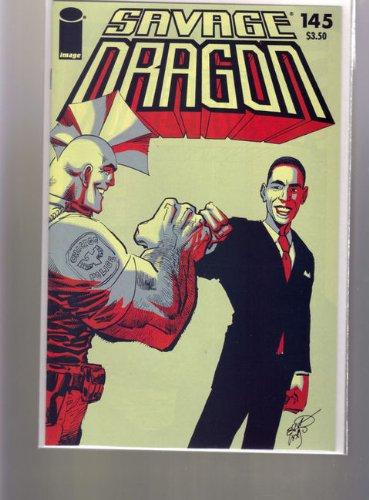 (IMAGE COMICS GROUP SAVAGE DRAGON #145 OBAMA FISTING)