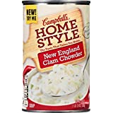 Campbell's Homestyle Soup, New England Clam Chowder, 18.8 Ounce (Pack of 12) by Campbell's Homestyle