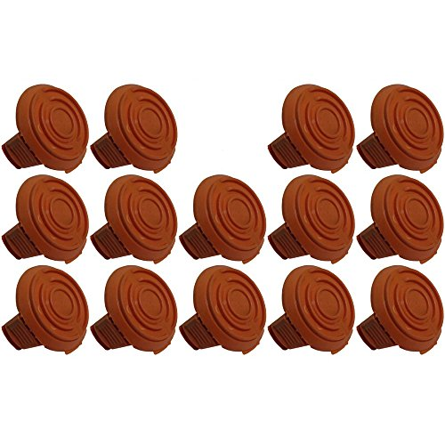 (14 Pack) Trimmer Edger Spool Cap Covers For Cordless Grass Trimmers-14pk by RAPartsinc