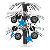 Amscan 249905 Sports & Tailgating NHL Party NHL Cascade Center Piece Decoration - Foil, Multi Color; 18''