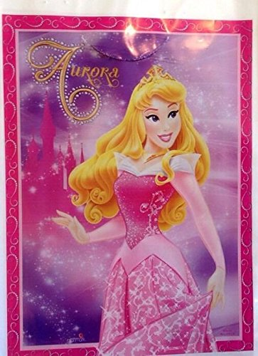 Sleeping Beauty Party Favor Bags Loots Birthday Princess Pink Aurora