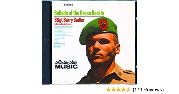 cf4333a0 SSgt. Barry Sadler - Ballads of the Green Berets - Amazon.com Music