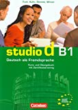 studio d B1. Gesamtband 3. Kurs- und ¨¹bungsbuch mit CD, unknown, 3464207196