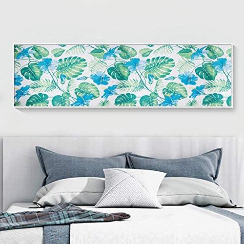 Hode Tropical Papier Adhesif Decoratif pour Meuble Papier D/écoratif Autocollant pour Meuble Porte Decoration Mural Peinture Autocollant Feuilles 45X200cm