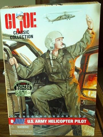 G.I Joe Classic Collection GI JANE Doll MIB US Army Helicopter Pilot