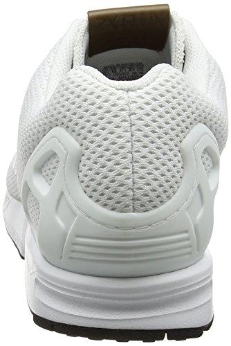 adidas Zx Flux, Zapatillas para Hombre, Negro Blanco (Footwear White/footwear White/footwear White)