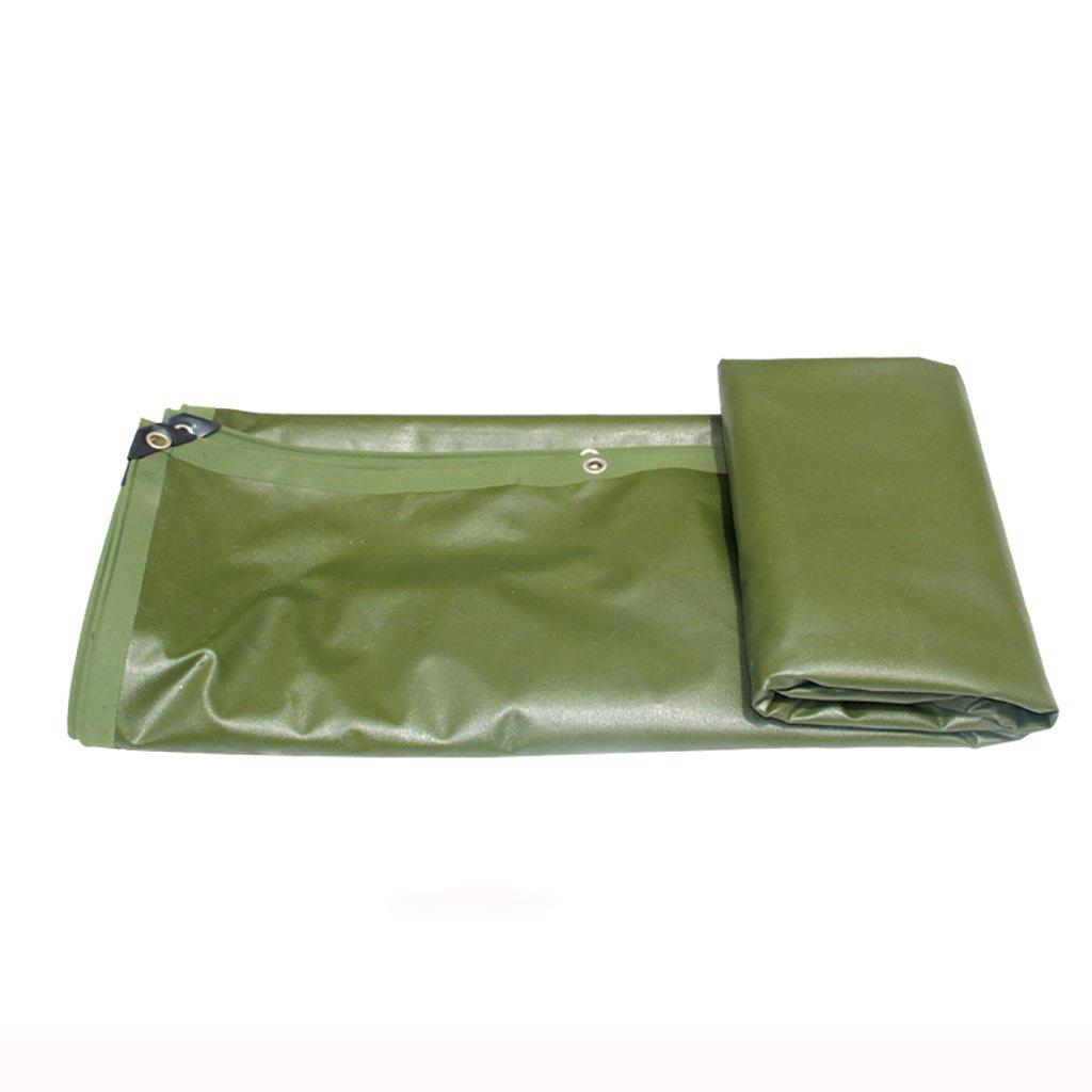 タータリン高強度厚い防雨トラック区画貨物ヤードヤードテントクロス屋外0.76 mm 680 g/m2草の緑13サイズ (サイズ さいず : 4*4m) B07DCRCYWP 4*4m  4*4m