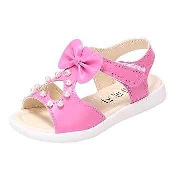 a82979db7e8d14 Summer Sandals,Todaies Kids Children Sandals Fashion Big Bowknot Girls Flat  Pricness