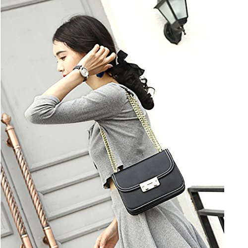 JIUTE JIUTE package package Bag Shoulder Messenger PU Leather Ms TdwqS5w