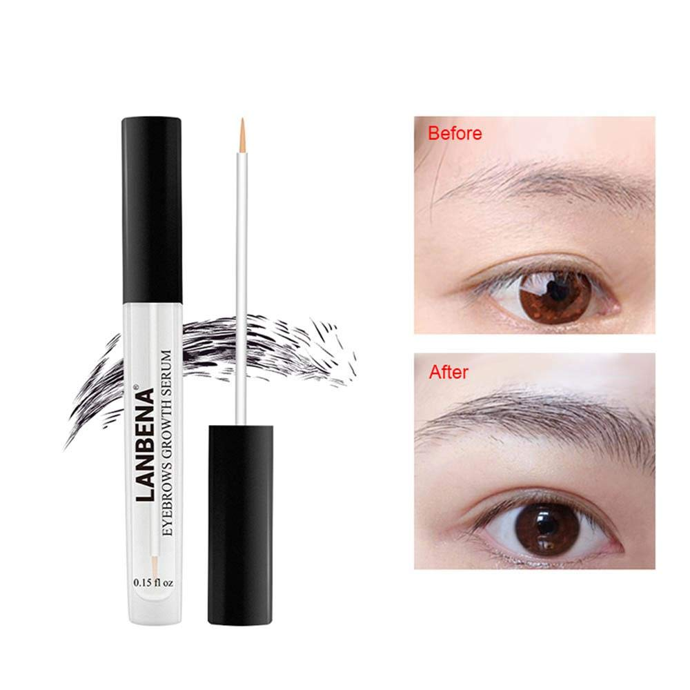 Eyebrow Serum Before And After - Eyebrows Idea