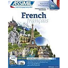Assimil French Pack : book + 4 audio CD 's [ French for English speakers ] (With Ease) (French and English Edition)