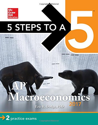 5 Steps to a 5: AP Macroeconomics 2017 cover
