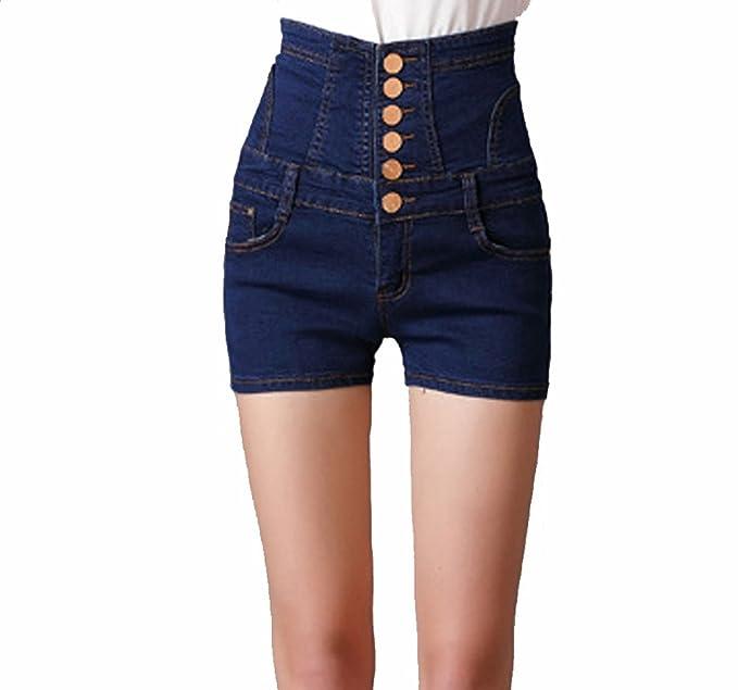 eefbcbc2d6eb TieNew Mujer Moda Sexy Jeans Shorts, 2018 Mujeres Verano Boyfriend ...
