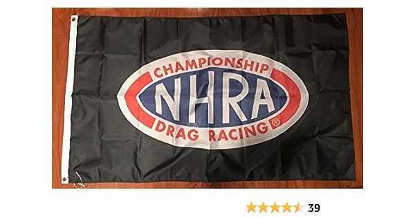 Amazon Com Nhra Flag 3 X5 Feet Drag Racing Championship Banner Everything Else