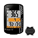 Bryton Rider 10 GPS Cycling Computer (2.0'', Rider 10C (Black) - with Cadence ANT+/BLE)