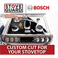 Bosch Stove Protectors - Stove Top Protector for Bosch Gas Ranges - Ultra Thin, Easy Clean Stove Liner