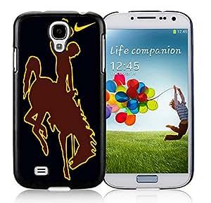 Wyoming Cowboys 03 Black Hard Plastic Samsung Galaxy S4 I9500 i337 M919 i545 r970 l720 Phone Cover Case