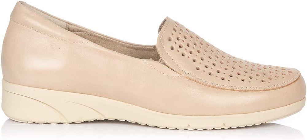 PITILLOS 2912 Zapato Mocasin Piel Mujer