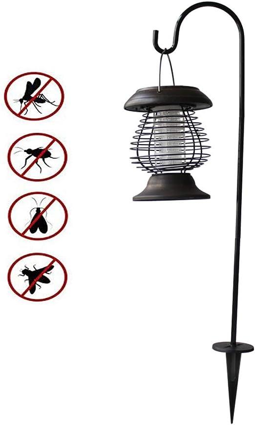 AZUOYI UV Lámpara Antimosquitos- Solar Antimosquitos para Exterior, Lámpara De Energía Solar contra Los Mosquitos, para Exterior Hogar Jardín Césped: Amazon.es: Hogar