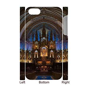 3D cathedral 3 For Samsung Galaxy S6 Case Cover For Teen Girls, For Samsung Galaxy S6 Case Cover Blue [White]