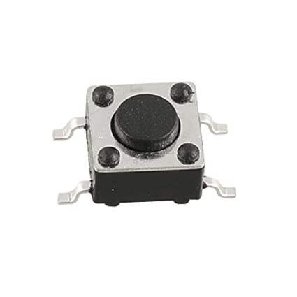140pcs Mini Momentary Tactile Push Button Switch SMD DIP for Electronics