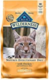 Blue Buffalo Wilderness High Protein Grain Free, Natural Adult Weight Control Dry Cat Food, Chicken 5-lb Larger Image