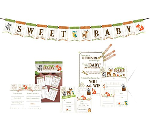 Lillian Rose Baby Shower Prepack, Woodland