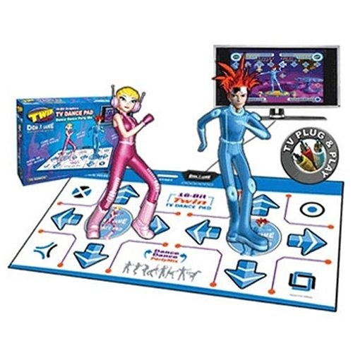 DDR Game Party Mix TV Plug & Play Twin-Pro 2 Player Dance