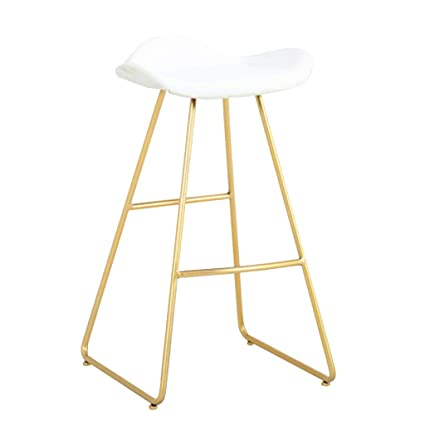 Surprising Amazon Com Modern Barstool High Footrest Metal Bar Stool Gmtry Best Dining Table And Chair Ideas Images Gmtryco
