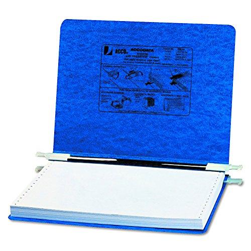Acco Pressboard Data Binders (ACCO Pressboard Hanging Data Binder, 12 x 8.5 Inches Unburst Sheets, Dark Blue (54133))