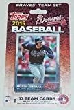 2015 Topps Atlanta Braves Factory Sealed Special Edition 17 Card Team Set with Freddie Freeman Craig Kimbrel Plus
