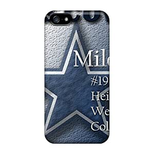 AaronBlanchette Iphone 5/5s Anti-Scratch Hard Phone Covers Allow Personal Design Stylish Dallas Cowboys Series [fFV19649qKqs]