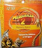 Madagascar Escape 2 Africa Memory Match Cards