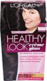 L'oreal Paris Healthy Look Crème Gloss (Pack of 3) (Rich Black 1)
