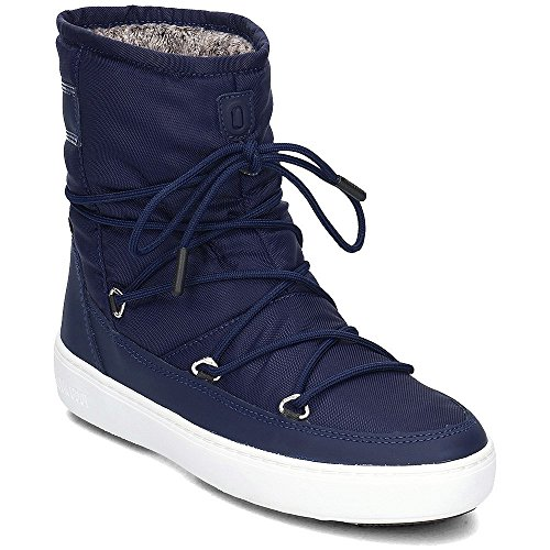 Moon Boot Pulse Nylon Plus Wp Dameslaarzen Marine Blauw