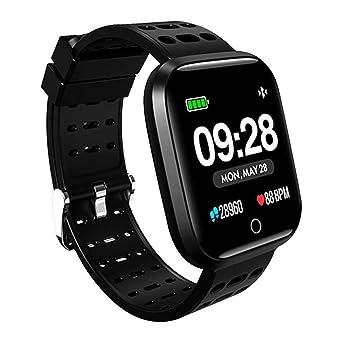 Lystaii Smart Watch Waterproof Smartwatch Sports Fitness Tracker ...