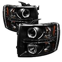 Spyder Auto Chevy ado 1500/2500/3500 Halogen LED Projector Headlight