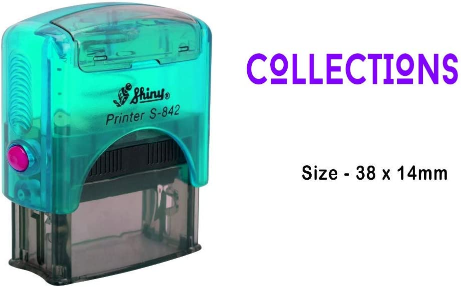 eloria Collections Text Self Inking Rubber Stamp Business Custom Stamp Office Stationery
