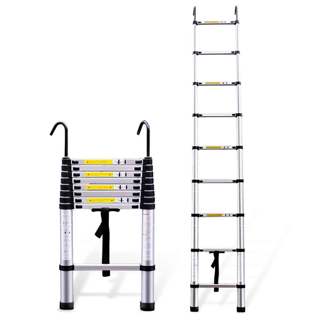 踏み台 はしごはしごアルミはしご多機能吊り階段工学梯子厚折り梯子世帯の延長はしごを拡張 (サイズ さいず : 3.8m) B07R9J76Z5  3.8m