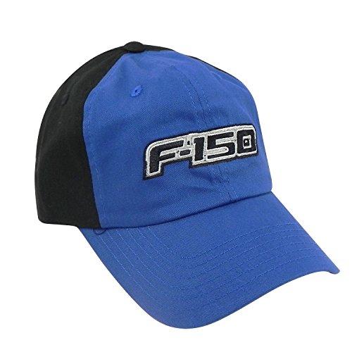 Ford F-150 Blue Front Black Baseball hat