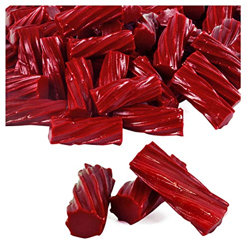 Licorice Candy – Licorice – Wiley Wallaby Licorice - Red Candy – Red Licorice – Australian Licorice – Licorice Candy Bulk - 4LBs - Fat Free, Low Calorie, Low Sugar, Vegan ()