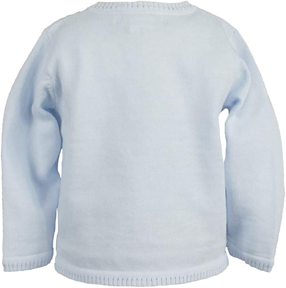 Petit Ami Baby Boys Ladder Edge Cardigan