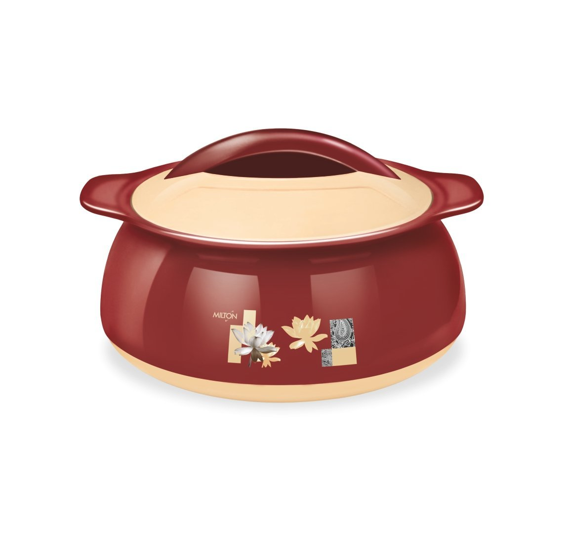Milton Delish Insulated Casserole Stainless Steel Color Brown Size 1000 Ml