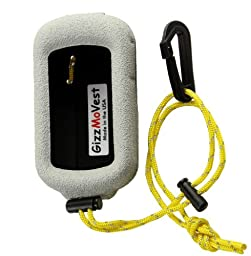 Garmin eTrex 30 20 10 30j 20j 10j CASE made by GizzMoVest LLC in \'Marine White\' MADE IN THE USA.