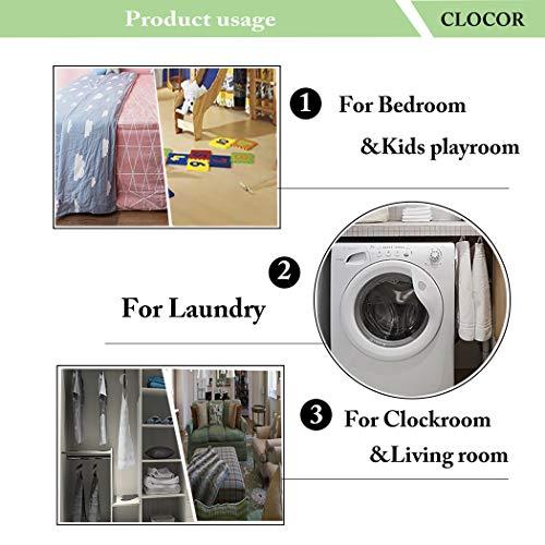 CLOCOR Collapsible Round Storage Bin/Large Storage Basket/Clothes Laundry Hamper/Toy Storage Bin (Heart Arrow)