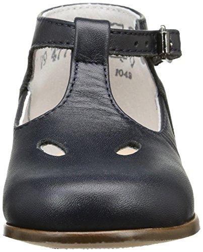 Little Mary Max - Zapatos de primeros pasos Bebé-Niñas Azul (Vachette Marine)
